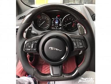 Jaguar Steering Wheel (Without Airbag) Model (2016-2021)