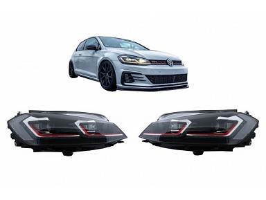 LED Headlights Volkswagen Golf GTI Hatchback 7.5 Facelift (2017-2019) (RHD)
