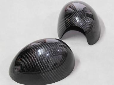 Carbon Fiber Mirror Covers Mini Cooper R53 (Electric Mirror)