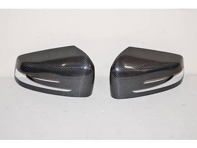 Carbon Fiber Wing Mirror Covers for Mercedes