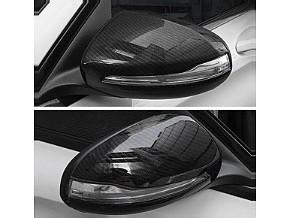 Carbon Fiber Mirror Cover for Mercedes C-Class W205