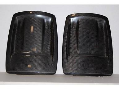 Cubre Asientos Fibra de Carbono para BMW Serie 1 E82