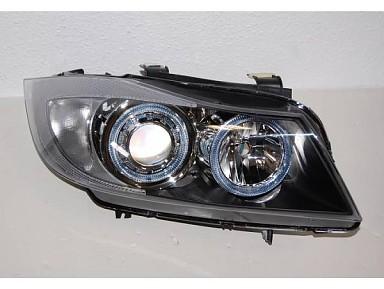 Faros Delanteros con ojos de angel para BMW Serie 3 E90/E91