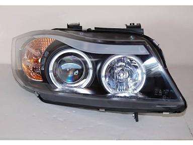 Faros Delanteros con ojos de ángel para BMW Serie 3 E90/E91