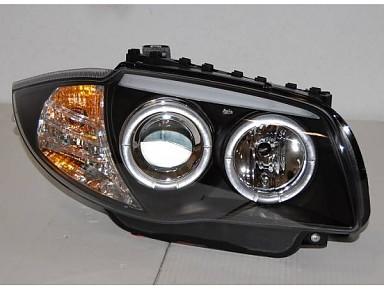 Faros Delanteros con Luz de día para BMW Serie 1 E87/E81/E88/E82