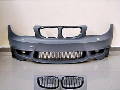 1M Front Bumper for BMW 1 Series E81/E82/E87/E88 (2005-2012)