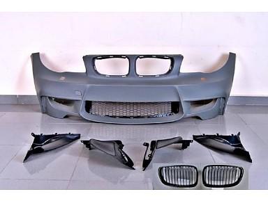 1M Front Bumper/Grill for BMW 1 Series E81/E82/E87/E88